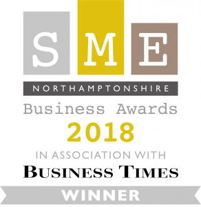 SME Northants Business Award 2018_Winner